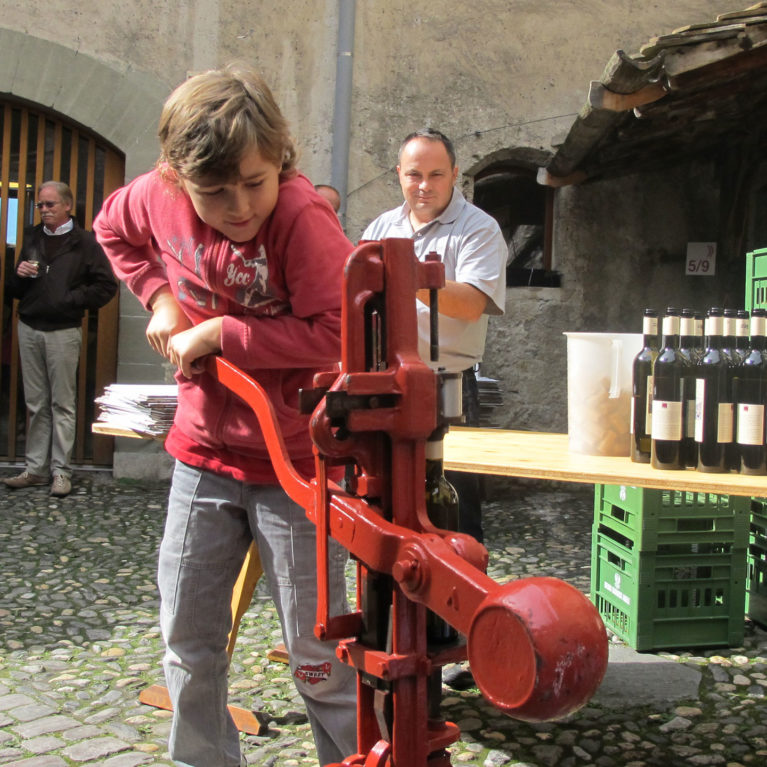 Clos de Chillon 2019 Bottling Ceremony