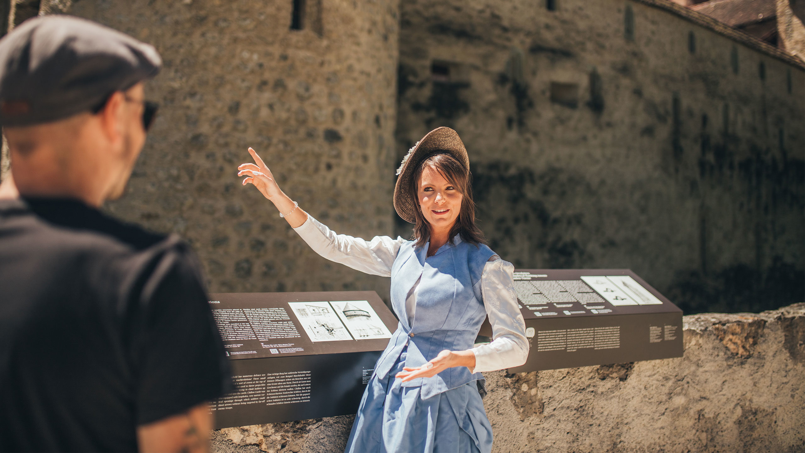 """Visite """"Romantiques à Chillon"""""""
