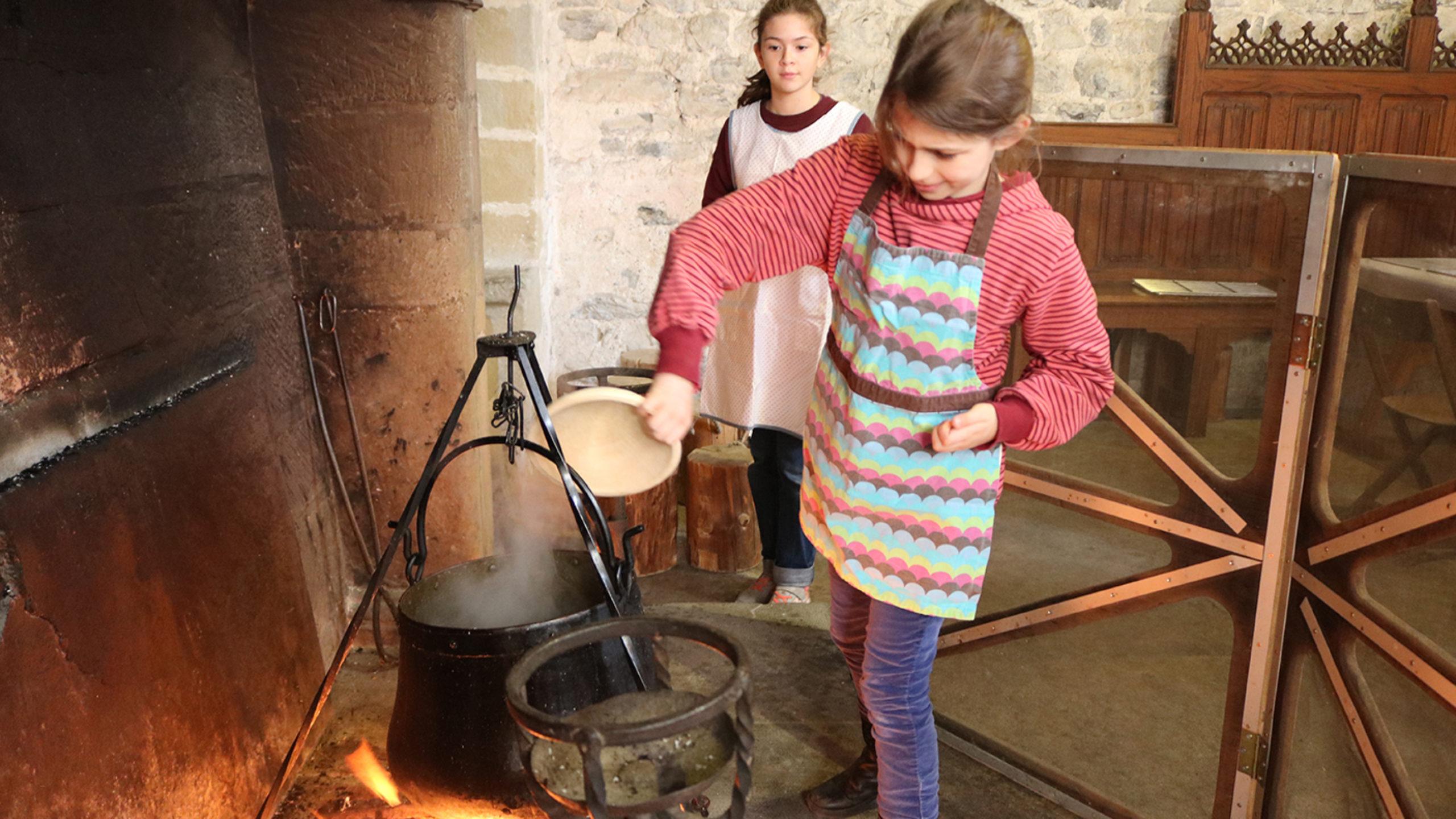 "Ateliers d'automne ""Cuisine médiévale"""